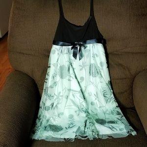 Girls 10 Dress Bonnie Jean Tulle Spaghetti Straps
